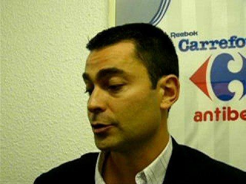 Réaction d'Olivier COUSIN après la victoire à Antibes