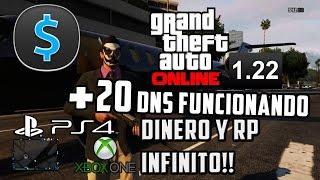 GTA V ONLINE 1.17 +30 DNS FUNCIONANDO! DINERO Y RP