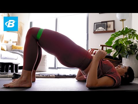 Home Workout Routine | Claire Fountain, CBQuality x RSP Nutrition