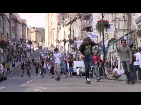 Emerica Wild In The Streets Bristol - Skate Down Park Street