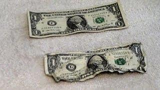 How To Make Crisp Dollar Bills