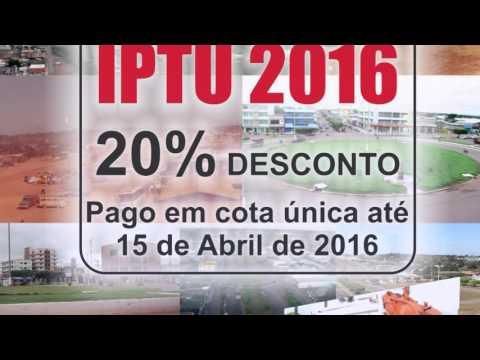 IPTU 2016 - ROLIM DE MOURA
