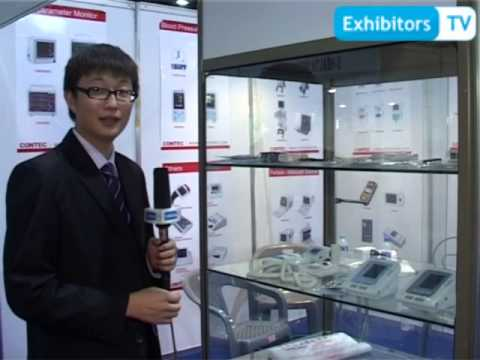 Contec Medical Systems- manufacture/ distribute Medical Instruments (ExhibitorsTV @ HealthAsia'13)
