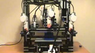 MakerLegoBot: 3D Lego Printer