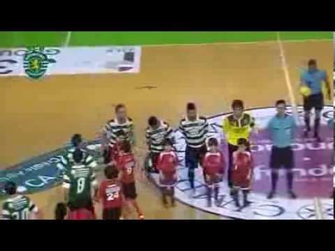 Futsal :: 14J :: Fundão - 1 x Sporting - 2 de 2013/2014