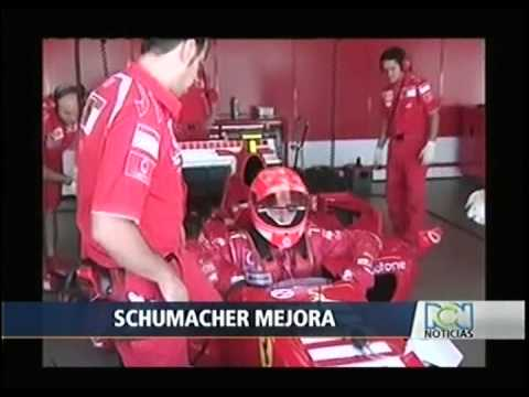 Michael Schumacher sale del coma | Michael Schumacher comes out of coma