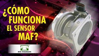 Cómo funciona el sensor MAF?