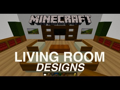 Minecraft living room designs youtube for Living room ideas in minecraft