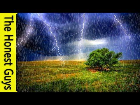 SPOKEN GUIDED SLEEP TALK DOWN: THUNDER & RAIN