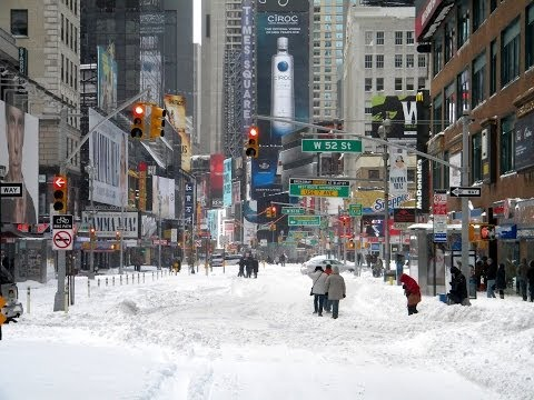 Winter Weather, Snow & Ice, Shutting Down Cities