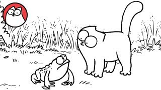 Tongue Tied - Simon's Cat