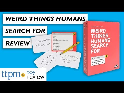 Weird Things Humans Search For Game Review from Big Potato Games