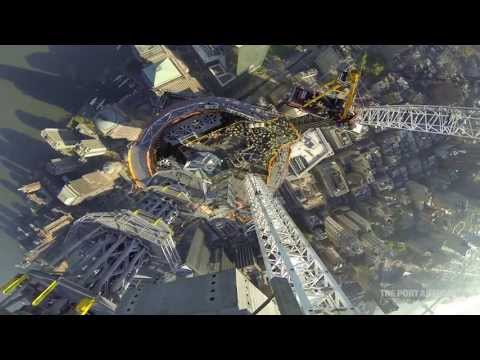 Coronan One World Trade Center visto con Go Pro