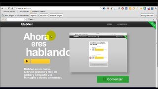 Blabber: Aplicacion Web Que Permite Enviar Mensajes De Voz