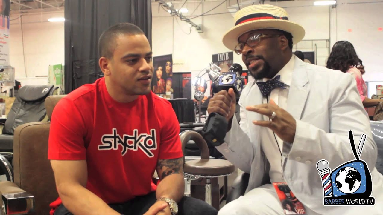 Barber World : Jay-Zs Barber Johnny Cake first BARBER WORLD TV interview with Kamal ...