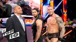 Humiliating public betrayals: WWE Top 10