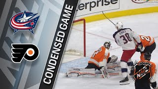 03/15/18 Condensed Game: Blue Jackets @ Flyers