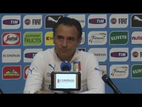 La conferenza stampa integrale di Cesare Prandelli (9 giugno 2014)