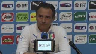 CT Prandelli - Conferenza stampa Live