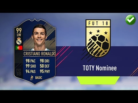 TOTY NOMINEE SBC! (CHEAPEST METHOD & COMPLETED) (FIFA 18 Ultimate Team)