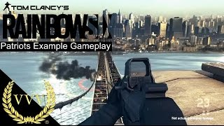 Rainbow 6 Patriots First Gameplay Example view on youtube.com tube online.