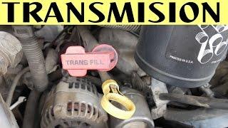 Nivel de aceite transmisión automatica y manual