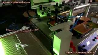 Triangle Ruler Screen Printing Machine