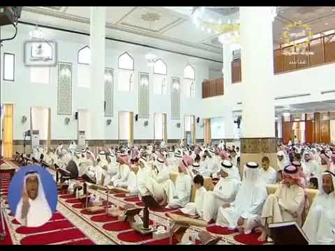 ولا تسرفوا / د. عبدالمحسن المطيري ( عضو رابطة علماء المسلمين )