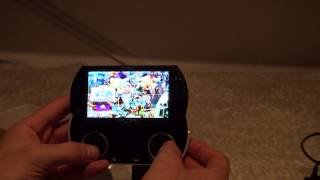[Test of Sony PSP Go 16GB game console] Video