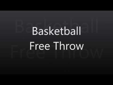 Basketball Free Throw Shooting Form