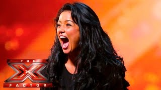 Lauren Murray belts out Somebody Else's Guy | Auditions Week 1 | The X Factor UK 2015