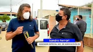 DANIEL SANTANA LEVA MAIS UMA OBRA PARA O CAMPO: SANTA MARIA GANHA CALÇAMENTO NOVO