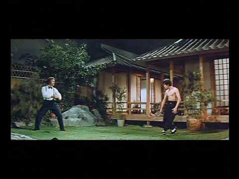 "Kung-Fu: Bruce Lee vs. Robert Baker, Fight scene, where Bruce Lee faces his disciple Robert Baker, who uses the ""Jeet Kune Do"" that Bruce taught him."