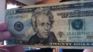 20 Dollar Bill Secret Fold!!!