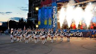 ХНУВС взяв участь у «Битві міст» на право проведення «Євробачення-2017»