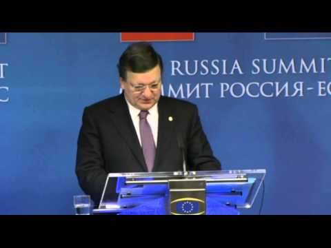 EU-Russia Summit press conference