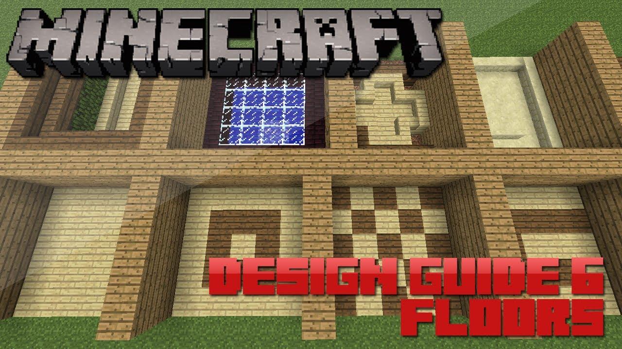 Minecraft Floor Pattern