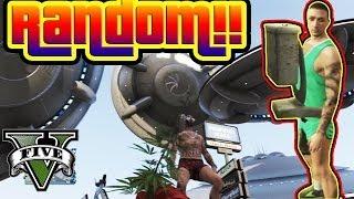 GTA V Online EL VIDEO MAS RANDOM DEL CANAL!!! La Caca