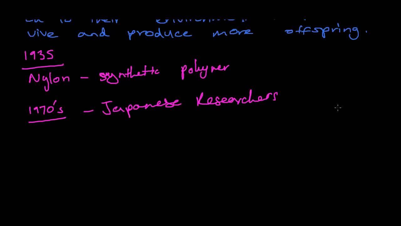 Blueprint of Life 4.11 - Modern Example of Natural Selection - Nylon Eating Bactera - HSC Biology