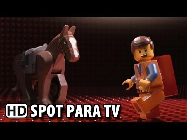 """Uma Aventura LEGO Spot para TV - """"Ano Novo Chinês"""" (2014) HD"""