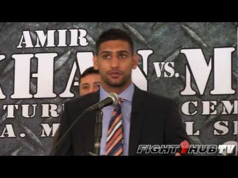 Amir Khan vs. Carlos Molina: Full Press Conference Highlights (HD)