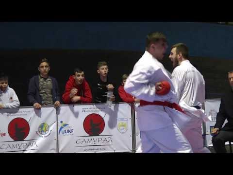 Lviv Open Cup 2018 Кumite Male Seniors 84+ kg Lagunov Igor Bronze Medal Tigrenok Sports Club