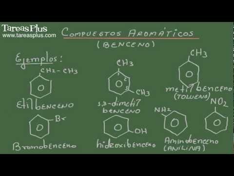 Compuestos aromáticos: Derivados de los compuestos de benceno