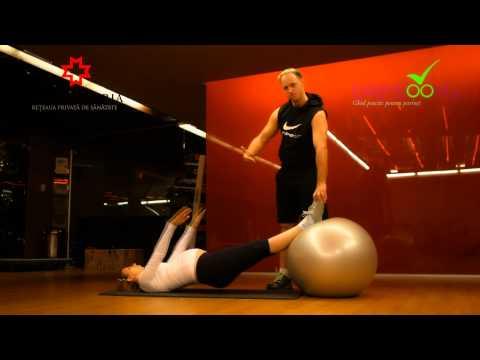 Exercitii pentru insarcinate - spatele