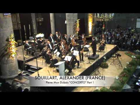 SOUILLART, ALEXANDER (FRANCE) Concerto de Dubois Part 1
