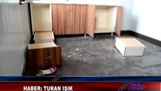 Horozköy Tren Gar Binası Tahrip edildi