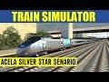 Train Simulator 2013 Game Play Amtrak Acela Express Silver Star Full Senario HD