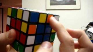 How To Solve A 4x4x4 Rubik's Cube Part 2 Edge Pairing