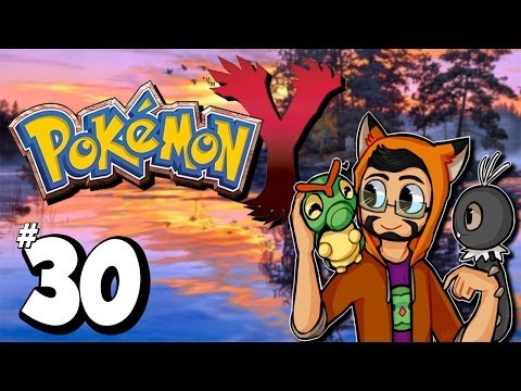 Pokemon Y  Ep.30  The Candy hair Gym Leader!,