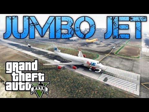 Grand Theft Auto V Challenges | JUMBO JET & KILLING SPREE | PS3 HD Gameplay